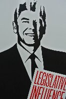 Legislative Influence For Sale 2011 Limited Edition Print by Shepard Fairey  - 2