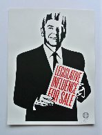Legislative Influence For Sale 2011 Limited Edition Print by Shepard Fairey  - 1