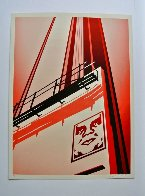 Sunset and Vine Billboard AP 2011 Limited Edition Print by Shepard Fairey  - 1