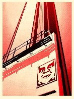 Sunset and Vine Billboard AP 2011 Limited Edition Print by Shepard Fairey  - 3