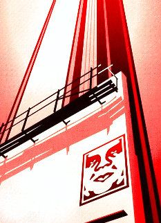 Sunset and Vine Billboard AP 2011 Limited Edition Print - Shepard Fairey