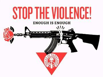 Parkland Voices (Stop the Violence) 2020 Limited Edition Print - Shepard Fairey