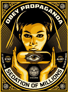 Sedation Pill 2013 Limited Edition Print - Shepard Fairey