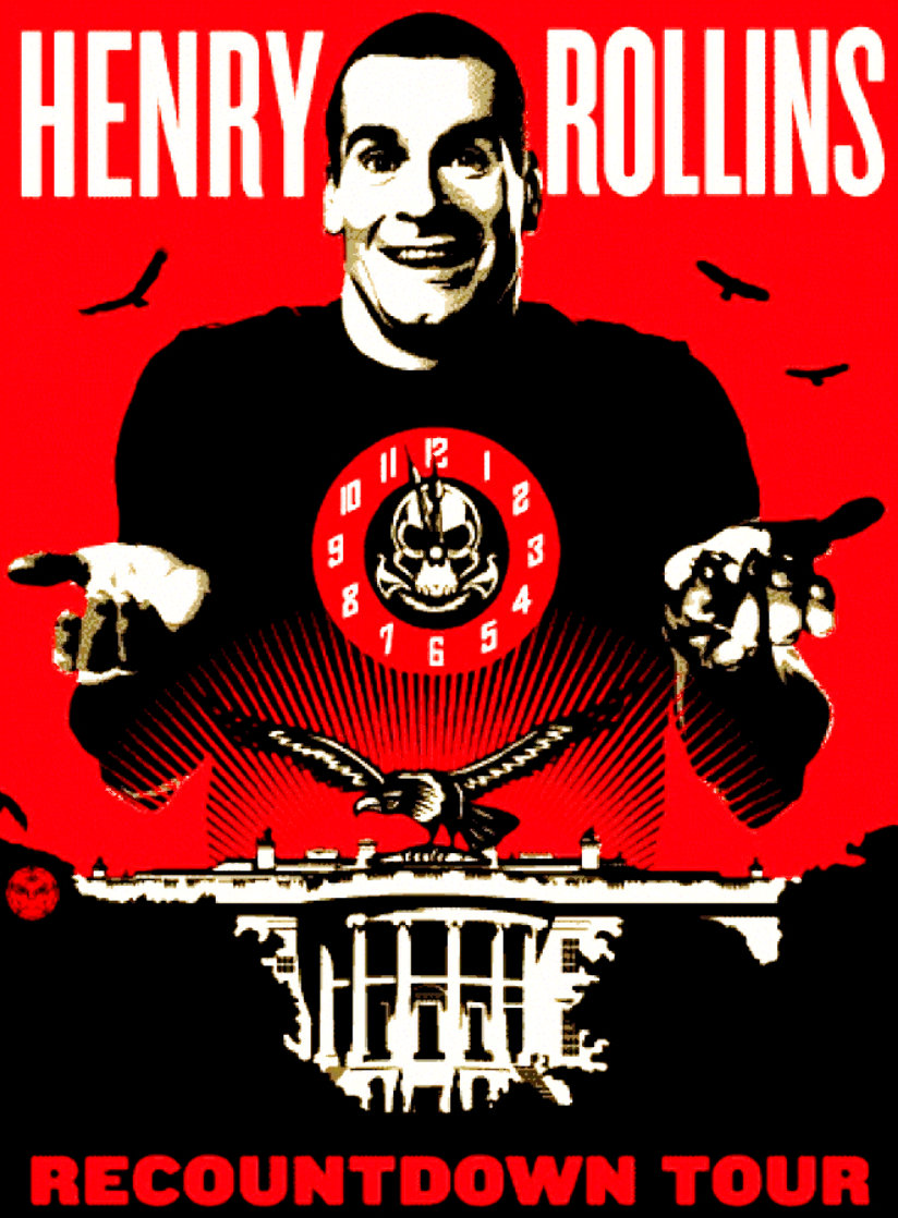 Henry Rollins 2008 Limited Edition Print by Shepard Fairey
