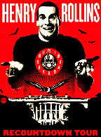 Henry Rollins 2008 Limited Edition Print by Shepard Fairey  - 0