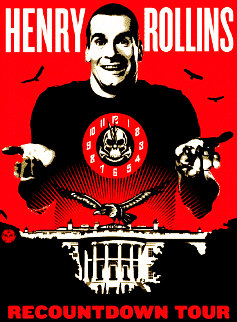 Henry Rollins 2008 Limited Edition Print - Shepard Fairey