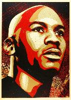Michael Jordan 2009 Limited Edition Print by Shepard Fairey  - 1