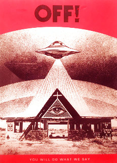 Off! 2020 (Flying Saucer) Limited Edition Print - Shepard Fairey