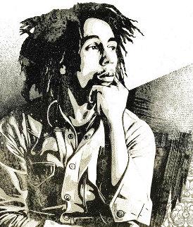 Bob Marley 40th I Soul Rebel 2021 Limited Edition Print - Shepard Fairey