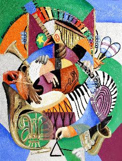 Sound of Music Original 2014 24x18 Original Painting - Anthony Falbo