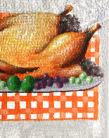 Baked Turkey 2019 20x16 Original Painting by Anthony Falbo - 3