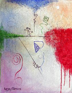 Like Little Children Matthew 18-3 2018 30x24 Original Painting - Anthony Falbo