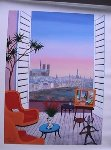 Balcony Over Paname 2010 Limited Edition Print - Fanch Ledan