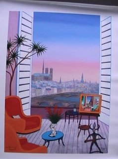 Balcony Over Paname 2010 Limited Edition Print by Fanch Ledan