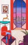 Balcony Over Manhattan 2010 Limited Edition Print - Fanch Ledan