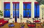 Balcony Over Bahia Limited Edition Print - Fanch Ledan