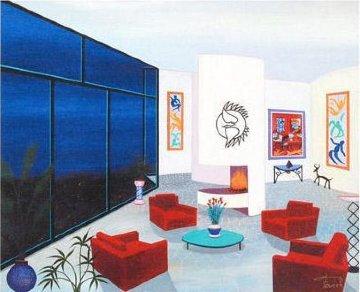 Living Above Malibu 2010 Limited Edition Print by Fanch Ledan