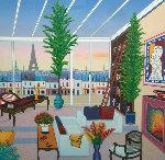 Salon Parisian 2002 Limited Edition Print - Fanch Ledan
