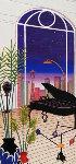 Chicago Nights 1998 Limited Edition Print - Fanch Ledan