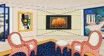 Villa in Big Sur 2003 Limited Edition Print - Fanch Ledan