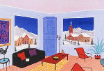 Cabin Austria 2010 Limited Edition Print - Fanch Ledan