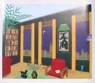 Interior With Abstract AP 2002 Limited Edition Print by Fanch Ledan - 2