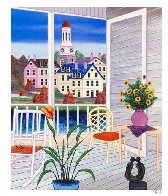 Porch in Virginia AP 2002 Limited Edition Print by Fanch Ledan - 1