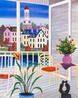 Porch in Virginia AP 2002 Limited Edition Print by Fanch Ledan