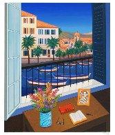 Window on Bonifacio 1998 Limited Edition Print by Fanch Ledan - 1