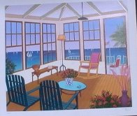 New England Villa 2001 Limited Edition Print by Fanch Ledan - 2