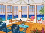 New England Villa 2001 Limited Edition Print - Fanch Ledan