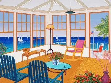 New England Villa 2001 Limited Edition Print by Fanch Ledan