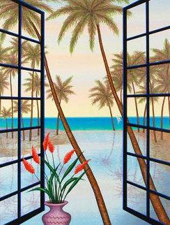 Window on Lagoon AP 2005 Limited Edition Print by Fanch Ledan