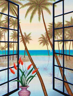 Window on Lagoon AP 2005 Limited Edition Print - Fanch Ledan