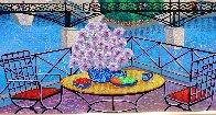 Paris Pont Des Arts 2001 Embellished  (Notre Dane) Limited Edition Print by Fanch Ledan - 7