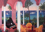 Patio Mauresque 2001 Limited Edition Print - Fanch Ledan