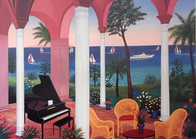 Patio Mauresque 2001 Limited Edition Print by Fanch Ledan