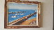 Untitled Harbor - Seascape 20x28 Original Painting by Fanch Ledan - 2