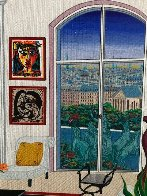 Picasso in Paris 1996 Embellished Limited Edition Print by Fanch Ledan - 3