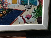 Picasso in Paris 1996 Embellished Limited Edition Print by Fanch Ledan - 4