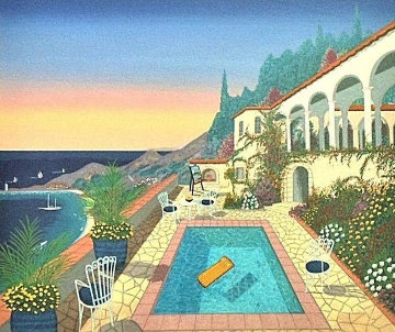 View From the Studio 1997 Limited Edition Print by Fanch Ledan