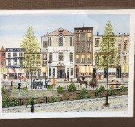 Eagle Theatre Village Limited Edition Print by Fanch Ledan - 1