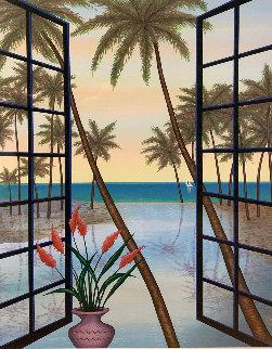 Window on Lagoon   2005 Limited Edition Print by Fanch Ledan