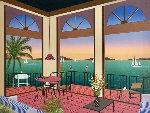 The Villa 1998 Limited Edition Print - Fanch Ledan