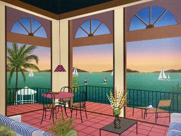 The Villa 1998 Limited Edition Print by Fanch Ledan