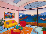 Interior With Mouly II AP 2011 Limited Edition Print - Fanch Ledan