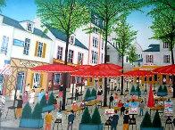 Place Du Tertre AP 1985 Limited Edition Print by Fanch Ledan - 0