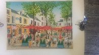 Place Du Tertre AP 1985 Limited Edition Print by Fanch Ledan - 1