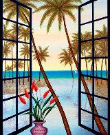 Window on Lagoon  Limited Edition Print by Fanch Ledan - 0