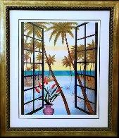 Window on Lagoon  Limited Edition Print by Fanch Ledan - 5